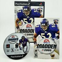 Madden NFL 2005 - Playstation 2 PS2 Game - Complete & Tested