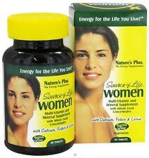 Nature's Plus fonte della vita delle donne Multi-vitamine e minerali - 60 Compresse