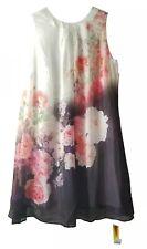 Joanna Hope Size 20 Navy White Floral Dress Midi Pretty Womens Wedding Evening