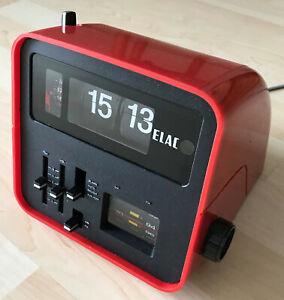 ELAC RD100 Klappzahlen-Uhr/Wecker/Radio/Flip-clock