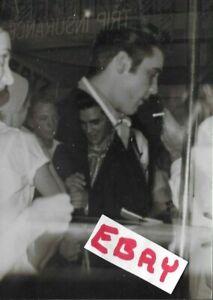 RARE ELVIS ORIGINAL PHOTO MEMPHIS IN STORE CANDID DOUBLE EXPOSURE LOT 136