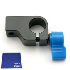 Phot-R 15mm Rod Clamp Holder Camera Rig Rail Support System Arm Chamois Cloth