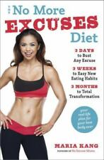 DIET BOOK: The No More Excuses by Maria Kang - 3 Months to Total Transformation