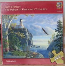 GUIDING LIGHT BY KIM NORLIEN - Complete - MASTER PIECES PUZZLE