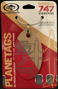 Qantas 747 Tail #VH-OJP Red/Gold Combo Sold Out Plane Tag / Planetags