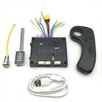 6S 24V Electric Skateboard Controller Longboard  + Remote Control ESC Substitute