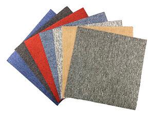 x20 Office Carpet Tiles 50 x 50cm 5m2 Heavy Duty Retail Shop Commercial Flooring