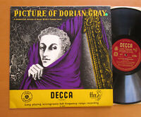 LK 4049 Picture Of Dorian Gray Oscar Wilde Dramatized EXCELLENT Decca Mono LP