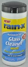 25 Glass Cleaning Wipes Automotive Car Truck Safe for Tinted Windows Rain-X