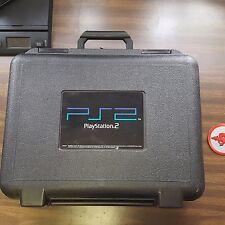 Playstation 2 [PS2] Hard Plastic Travel/Rental Case. Blockbuster Video.