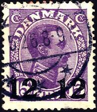 DENMARK - DANIMARCA - 1926/27 - Francobolli del 1913/21 - Sovrastampa
