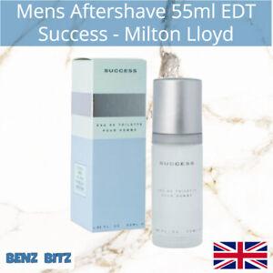 Success Mens Aftershave By Milton Lloyd 55ml EDT Eau De Toilette Spray