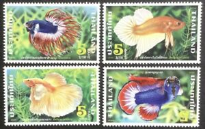 Thailand 2020 Fighting Fish 2nd Series set of 4 MNH