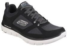 Zapatillas deportivas de hombre textiles Skechers color principal negro