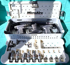 Zimmer Microaire Powermaster Pneumatic Set Saw Drill 7100 Attachments Amp Hose
