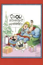 Accountant Super Christmas Funny Humorous Nobleworks Christmas Card