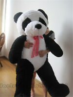 Giant Huge Big China Panda teddy Bear Stuffed Plush Animals Toys doll Gift 63in.