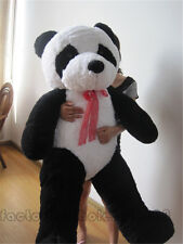 "63"" Giant Huge China Panda Bear Stuffed Big Plush Animals Toys Valentine's Gifts"