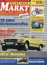 Markt 3/96 1996 DoT Ford T Mercedes SL SLC R107 Rover P4 Maserati Mistral Spyder