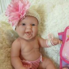 "NEW Precious Happy Berenguer 13"" Preemie Newborn Baby Doll - For Reborn or Play"
