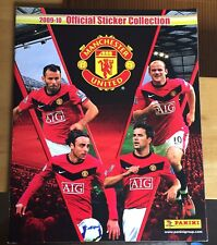 Complete Sticker Set Manchester United Panini Album 2009 2010 09 10 Excellent