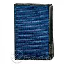 BRAND NEW TUMI ALPHA SLG MULTI WINDOW CARD CASE SLIM RFID WALLET BLACK BLUE CAMO