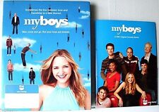 """MYBOYS"" TBS TV SHOW PROMO PRESS KIT WITH 2 DVD's>NEW IN BOX>2006>FREE U.S. SHIP"
