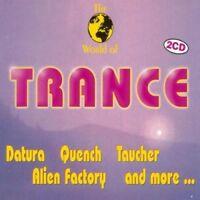 World of Trance (1995, #zyx11008)   2 CD   Datura, Quench, Taucher, Alien Fac...