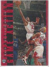1998 Upper Deck Game Action #G26 Michael Jordan Chicago Bulls Card