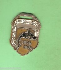 CRONULLA SHARKS  RUGBY LEAGUE  CLUB MEMBER BADGE 1976 to 1981 #14864
