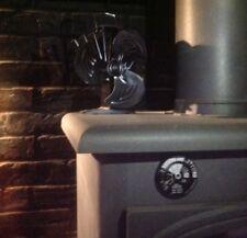 Heat powered 3 blade stove fan new 2018 model log burner wood burning stove fan