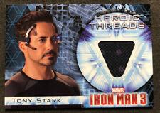 IRON MAN 3 costume Polka dots TONY Stark UPPER DECK 2013 AVENGERS Memorabilia 13