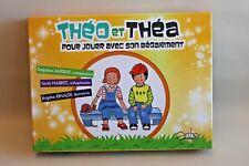 Théo et Théa pour jouer avec son bégaiement - Jeu société éducatif orthophoniste