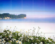 30 x 24 Mural Ceramic Beach Ocean Sea Decor Tile #362