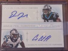 2015 National Treasures Rookie Dual Signatures Funchess Artis-Payne 45/49