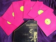 Wagner Berliner Philharmoniker Herbert Von Karajan Götterdämmerung 6x lp box set