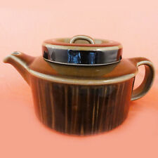 """KOSMOS Arabia Finland TEA POT NEW NEVER USED Oven Proof 4.5"""" tall Finland"""