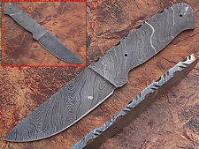 "CUSTOM MADE DAMASCUS BLANK BLADE FULL TANG Knife 9"" Overall (BDM-2282)"