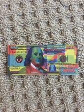 Mister E Benny Jr. $100 Bill Art Benny Stack Series 2017