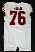 #76 Morgan Moses of Washington Redskins NFL Locker Room Game Issued Jersey