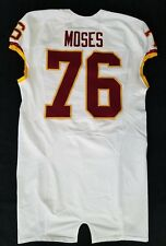 #76 Morgan Moses of Washington Redskins Nike Game Issued Jersey
