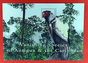 ZAYIX - 2001 Antigua 2506 MNH souvenir sheet - Birds / Endangered / King Vulture