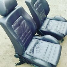 VW Golf MK3 VR6 5 Door Mulberry Purple Leather Highline front Seats