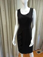 NEW Review Cartella Sleeveless Fully Lined Dress Chocolate Size 10