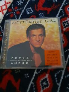 Peter Andre ft. Bubbler Ranx : Mysterious Girl - CD Single (1996, Mushroom)