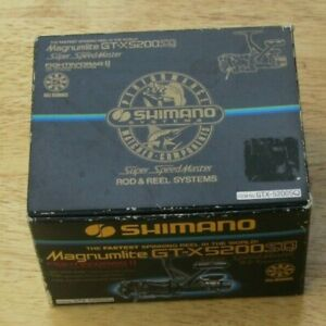 Shimano Speed Master Magnumlite GT-X 5200 SQ,6.2:1 Fast,5 Ball Bearing in box