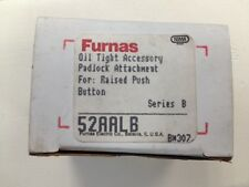 Siemens Furnas 52AALB Padlock Attachment for: Raised Push Button (Lot of 2)