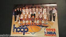 VINTAGE 1993 NY Knicks Chicago Bulls NBA PLAYOFFS Program *New Unopened*