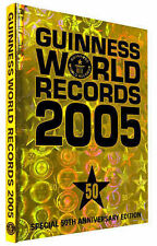 Guinness World Records 2005 (50th Anniversay Edition), 0851121926, Very Good Boo