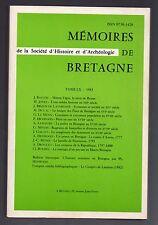 BRETAGNE HISTOIRE ETHNOLOGIE MARIAGE COUTUME GUERRE DE VENDEE CORSAIRE MARITIME